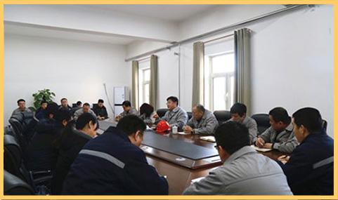 邢台热电公司开展员工思想动态调研工作,搭建起经营班子与基层员工互动交流的平台.jpg